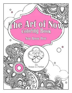 The Art of Now Coloring Book cover